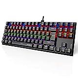 TECKNET Mechanical Gaming Keyboard 88 Keys Full...