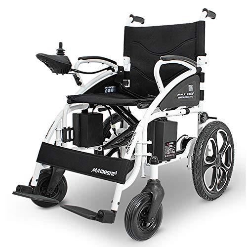 RDJM Elektrischer Rollstuhl - Klappbarer Elektrorollstuhl