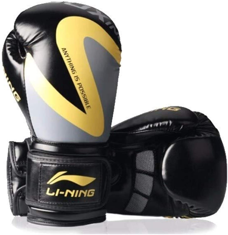 CXBH ボクシンググローブ、大人ボクシンググローブ、三田ファイティングプロフェッショナルトレーニンググローブ、土嚢男子プロ手袋。 (Size : 10oz)