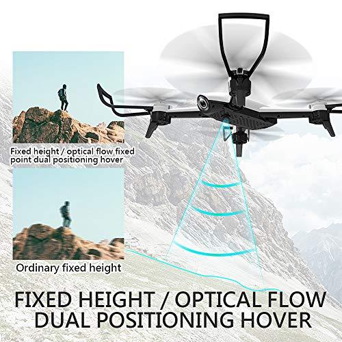 Goolsky SG106 FPV Drohne mit 1080P Weitwinkel Kamera HD live übertragung Follow Me Geste Schießen Rc Quadrocopter für Anfänger(2 Batterien)