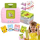 Educational Toys for 1-6 Year Old,112 Sheets 224 Words Talking Baby Flash Cards,Learning Toys, Preschool Learning...
