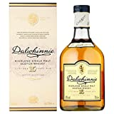 Dalwhinnie 15 años Highland Single Malt Whisky escocés 0,7 l, paquete de 2