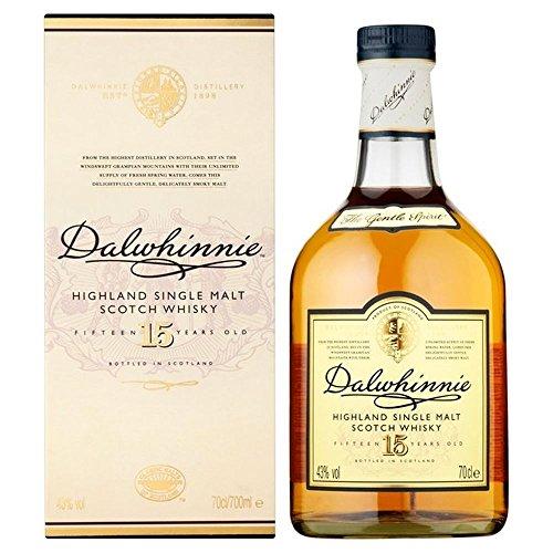 Dalwhinnie Single Highland Malt Whisky,15 Jahre alt 70cl - (Packung mit 6)