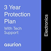 ASURION 3 Year Electronics Protection Plan with Tech Support $40-49.99