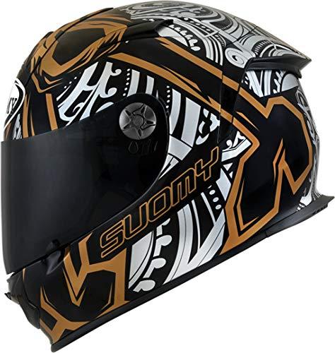 Suomy SR-Sport Crossbones Helm Schwarz/Gold XXL