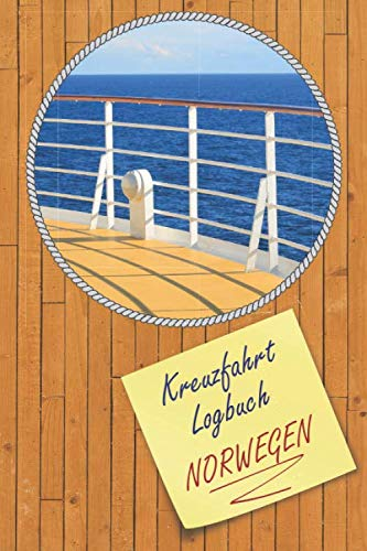 Kreuzfahrt Logbuch Norwegen: A5 Reisetagebuch für eine Kreuzfahrt nach Norwegen   Tagebuch für deinen Urlaub auf dem Schiff & der See   Reiselogbuch ...   Kreuzfahrttagebuch   Reiseführer