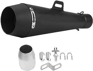 Tubo de escape universal para moto, tubo de escape silencioso de acero inoxidable para moto ATV Scooters