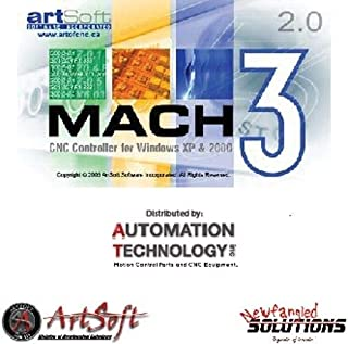 Fully Licensed Mach3 CNC Software, CD With Manuel, License file