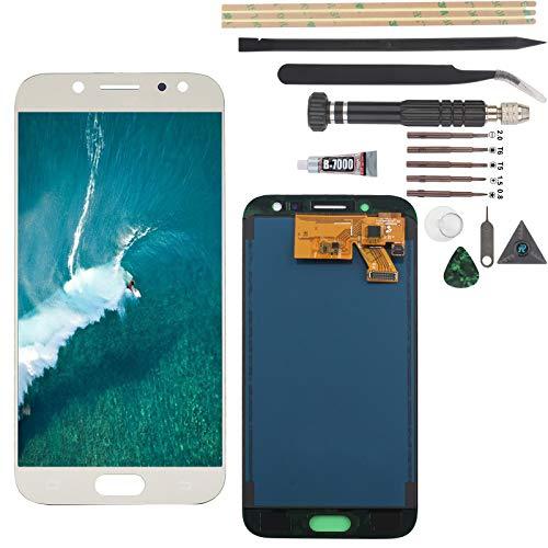 Reemplazo de LCD para Samsung Galaxy J5 (2017) J530 SM-J530F J5 Pro LCD Display Digitalizador de Pantalla táctil con Herramientas (Oro)