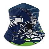 ngxianbaimingj Face Scarf Seattle Seahawks Neck Gaiter Tube Multifunktionstuch Bandanas & Sturmhaube Anti Staub