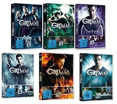 Grimm - Staffel 1-6 im Set - Deutsche Originalware [33 DVDs]