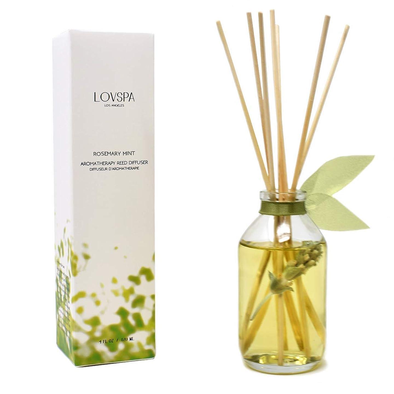 獲物リビングルーム細胞lovspa部屋Fragrance Diffusers   Decorative Scented Oil Reed Diffuserセット LOVPSA-MINI-TROPICAL-ORNGVANILLA