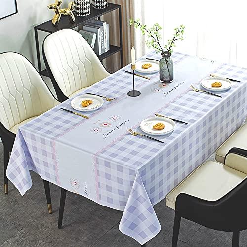 sans_marque Manteles, utilizados para mesas de interior y exterior, manteles - manteles de cena sólidos para bodas restaurante cafeterías 90* 90cm