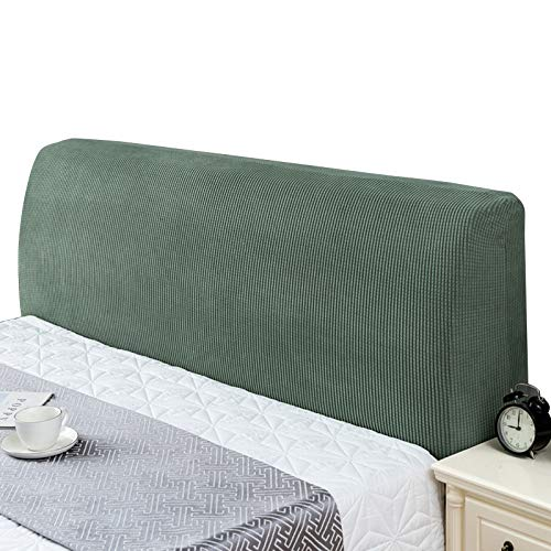 Stafeny 2pcs bedside cover polyester fabric soft and comfortable, not easy to pilling, formaldehyde free, not easy to fade and shrink elastic fit the bedside
