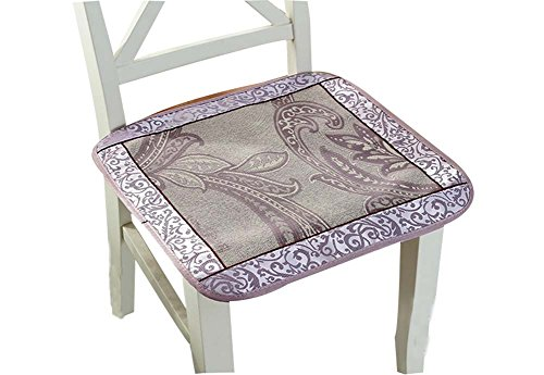 Blancho Rattan-Sitze Ice Silk Kissen Breathable Kühle Sitzkissen Stuhlkissen Sommer