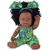 Muñeca Negra de 12 Pulgadas, muñeca Africana para niños, muñeca de Juego de Moda, niñas...