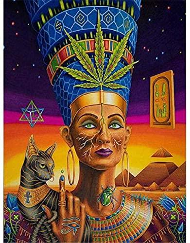 wmyzfs-Puzzles para Adultos 1000 Piezas Antiguo Egipto Rompecabezas De Retratos Rompecabezas Rompecabezas DIY Regalos para Adultos Adolescentes Niños Familias (38X26CM)