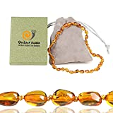 Best Amber Teething Necklaces - True Baltic Necklaces Gift Set (Standard 12.5 Inches) Review