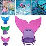 Best Kids Swim Fins - Sinwo Children Kids Mermaid Swim Fin Mermaid Monofin Review