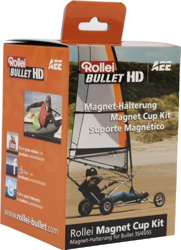 Rollei Magnet Cup Kit für Rollei Actioncam 3S / 4S / 5S / 5S WiFi / S-50 / 6S / 7S
