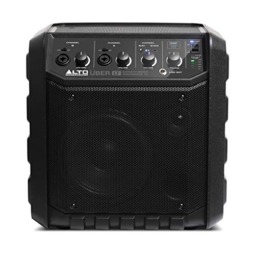 ALTO Professional Uber LT Portable PA System with Bluetooth, Rechargeable...