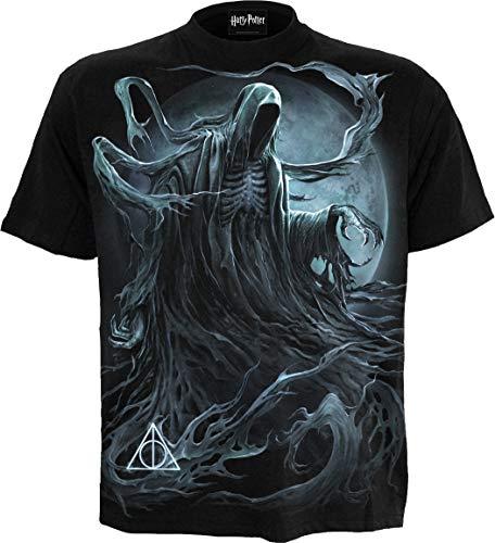 Spiral Men's Harry Potter Dementor T-Shirt Negro
