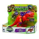 Turtles Mini Heroes: linea inedita dedicata ai piccini Le turtles tornano nella preistoria: articolo ispirato alla serie animata Blast to the Past T-rex è pronto a combattere sotto la guida dell'esperto Donatello