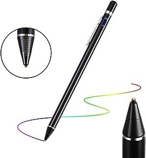 Flybiz Stylus Precisión, Punta Extra Fina 1.45mm Stylus Pen Pluma Capacitiva, Bolígrafo Digital Stylus Recargable para Pan...