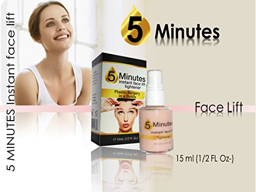 5 Minutes Instant Face Lift Serum Results 5 Minutes