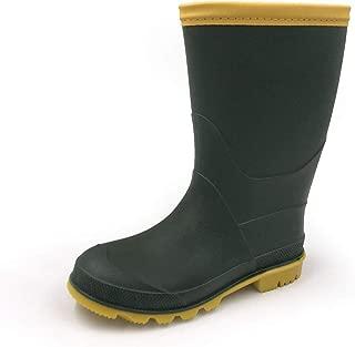 Kids Rain Shoes Easy On Rubber Rain Boots (Toddler/Little Kid/Big Kid)