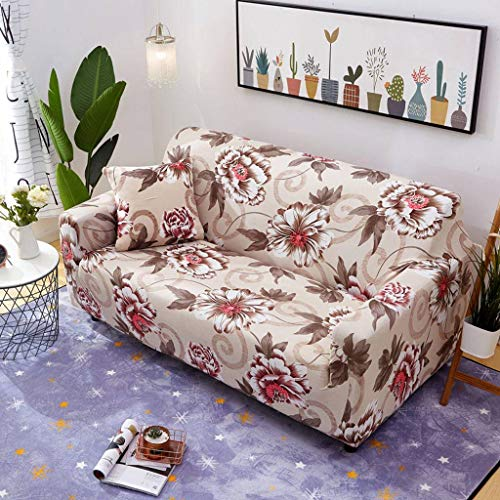 Elastische Stretch Sofa Cover, Jacquard Furniture Protector Sofa Slipcover Slip Resistant Wasbare Couverture De Canapé Voor Hoekbank Cover