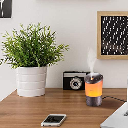 Essential Oil Diffuser with 7 Changing Colors 2 Mist Modes USB Powered Aromatherapy Diffuser product image