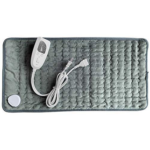 QFL Heating Heated Blanket Electric Mat LED Indicator Intelligent Temperature Control Warm Blanket For Neck Shoulder Abdomen Care Comfortable (Color : 02)