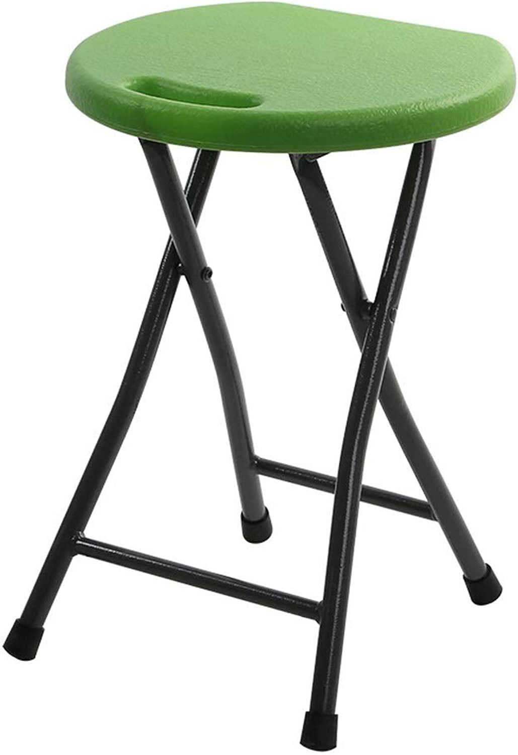Grass Green Portable Folding Round Shower Stool Elderly Disabled Pregnant Women Home Simple Stool