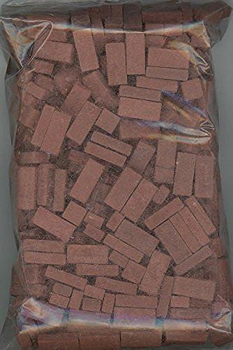 Venta al por mayor barato y de alta calidad. Dollhouse Miniature rojo Blend Brick Blend by Andi Mini Mini Mini Brick & Stone 325 count by Andi Mini Brick & Stone  el mejor servicio post-venta