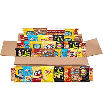 Frito-Lay Sweet & Salty Snacks Variety Box Mix of Cookies Crackers Chips & Nuts 50 Sweet & Salty Care Package ,1 Count