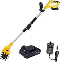Sponsored Ad – King showden Cordless Garden Tiller Rotavator with Rechargeable Battery and Charger Tillage Depth 6.3in, Cu...