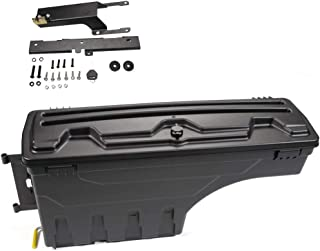 HaoTang New Left Drivers Side Truck Bed Storage Box Case Toolbox for Ford F-150 2015-2019 2016 2017 2018