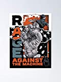 miinviet Rage Against The Machine Merch Poster - for Office