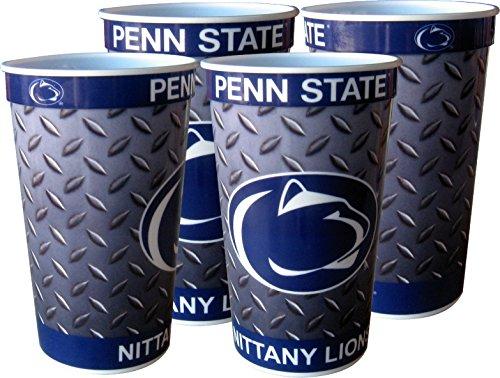 Penn State Nittany Lions 22 oz Souvenir Cups - 4/pkg.
