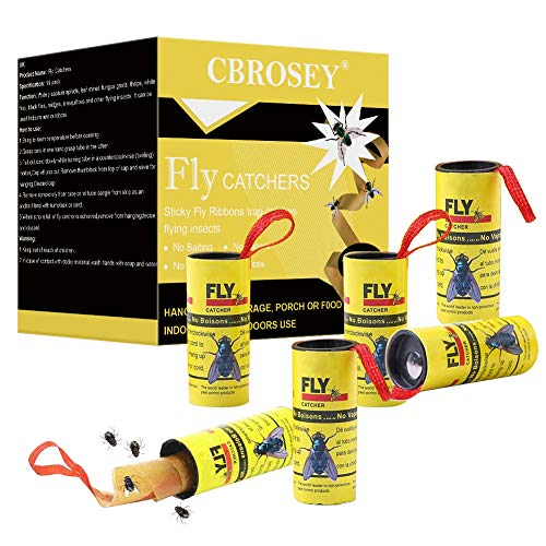 puissant CBROSEY Fly Catcher, Fly Killer, Fly Killer Paper, Sticky Fly Catcher, 16…