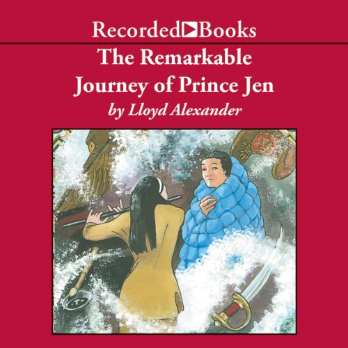 Remarkable Journey of Prince Jen, The audiobook cover art