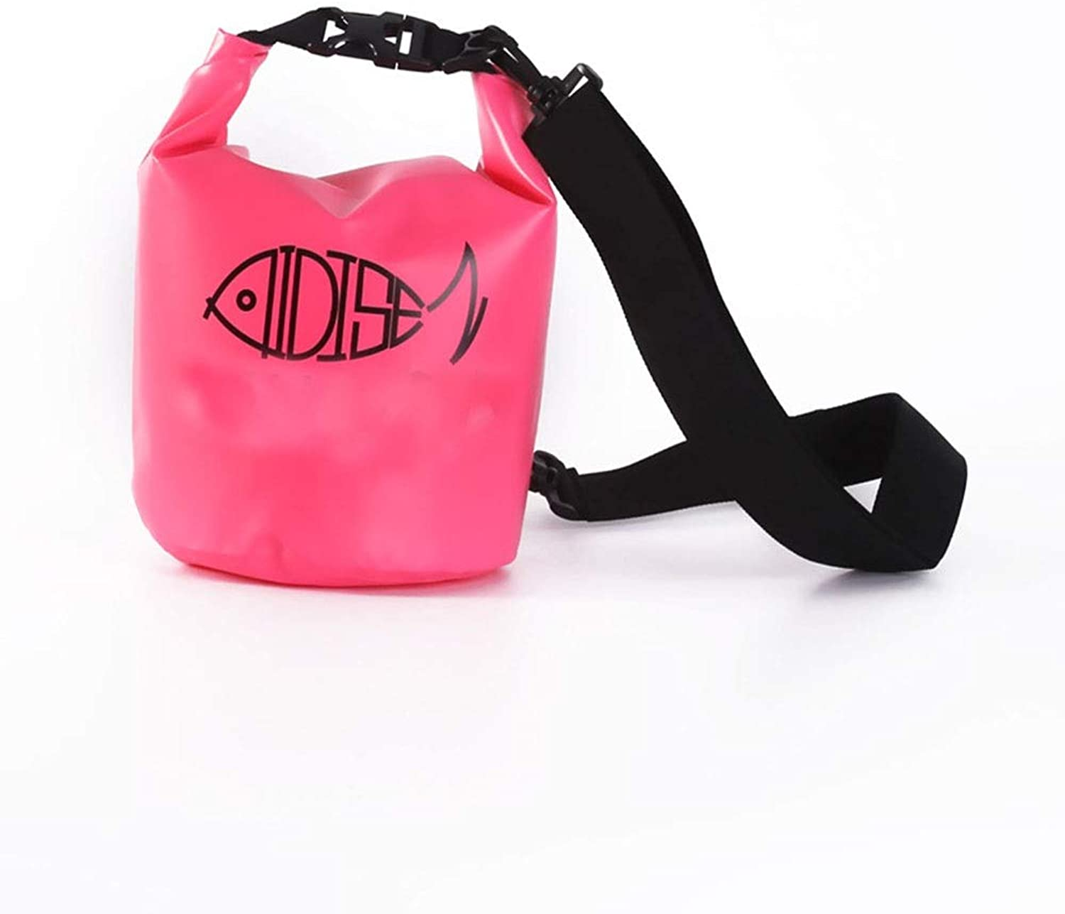 KUVV Durable 5L Outdoor Waterproof Bag Beach Bag Outdoor Products Swimming Diving Bag Waterproof Diving Bag Storage Bag (color   Pink)
