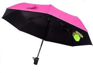 Aguder Windproof Travel Umbrella Golf Umbrellas, Unbreakable Lightweight 8 Ribs Automatic Windproof Canopy Compact Auto Open Close