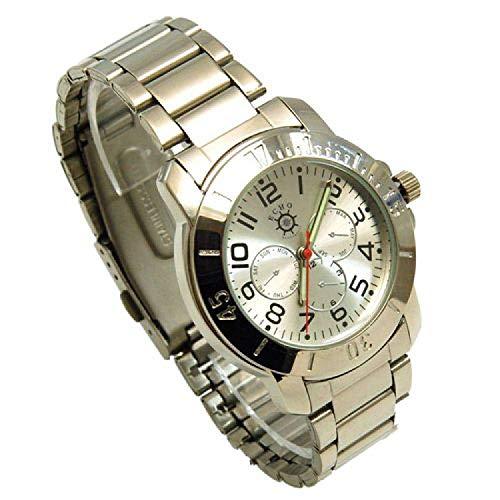 ECHO Herren Armbanduhr mit imitierten Chronographen