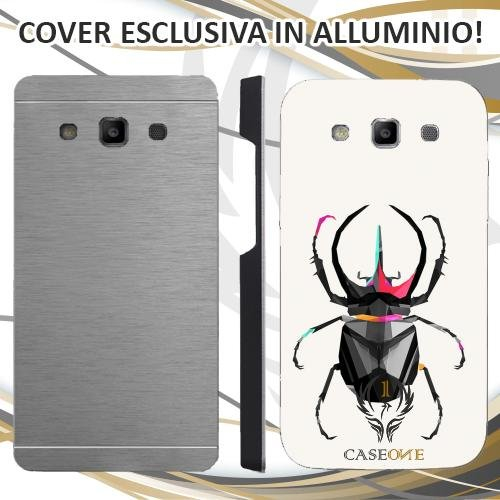 Custodia Cover Case Insetto 3D per Samsung Galaxy S3 Neo in Alluminio