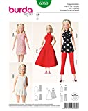 Burda Patrón 6960 Idea Creativa Ropa de muñeca