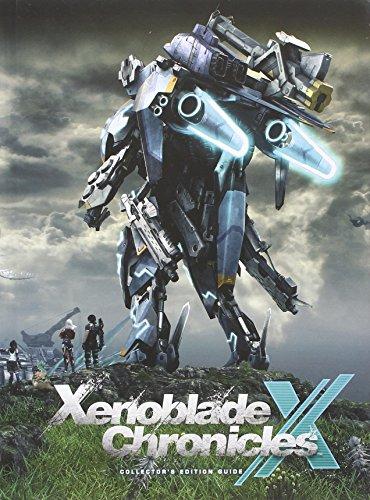 mächtig Xenoblade Cross X Collector's Edition-Handbuch