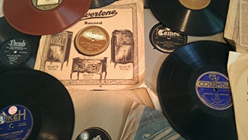 """78 RPM 10"""" Records Lot - 10 Pack Lot of Popular music from 1920's to 1940's - Various Artists"""