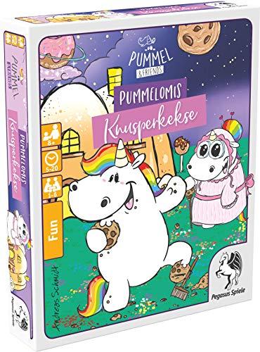 Pegasus Spiele 20035G Pummel & Friends Pummelomis Knusperkekse - Juego de Mesa